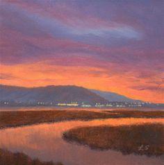"""Good Morning"" - Original Fine Art for Sale - © Linda Schweitzer"