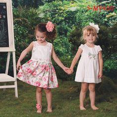 Beautiful summer girls two-piece lace dresses on wholesale contact:moon01@moonyao.com  #KidsClothing #GirlsClothing #BabyClothing #KidsWear