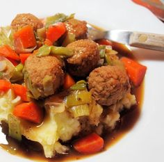 A Random Recipe - Finkadella: Scottish Meatballs with Carrots & Leeks