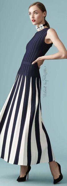 Regilla ⚜️ Carolina Herrera, Resort 2017 - love these pleats!