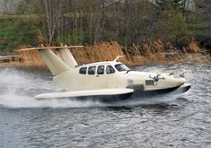 Aquaglide 5 Flying Ship, Flying Boat, Amphibious Aircraft, Sea Plane, Ground Effects, Plane Design, Private Plane, Experimental Aircraft, Aircraft Photos