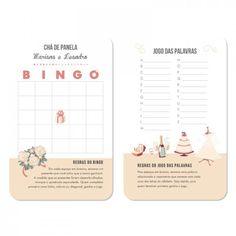 Idéias de brincadeiras para chá de panela/cozinha Bingo, Wedding Tips, Open House, Save The Date, Party Time, Bridal Shower, Place Card Holders, Engagement, Nova