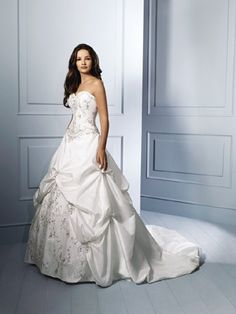 Alfred Angelo Bridal Collection - 758C  I LOVE THIS!!
