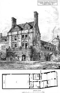 1879 - Coffee Tavern, Streatham, London - Archiseek.com