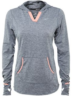 I'm more into user armour but my love use to be nike making the switch was awesome but I do like this hoodie, but it would throw me off my game I'm known as the ua girl everything from my water bottle to gym bag to shorts under shirts regular shirts hoodies they are all ua, u might say I have a bit of an addiction :/