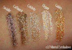 Elf Mineral Eye Shadows!!  - bellashoot.com