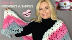 💖 How to Crochet A Beautiful Shawl 💖 Tutorial