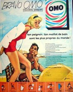 the 1960s-ad for Omo washing-powder