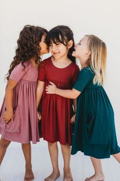 Perfect For Layering And Twirling Check Out All Of The Beautiful Colors And Styles Before They Re Go - My favorite children's fashion list Little Girl Outfits, Kids Outfits Girls, Girls Dresses, Kid Outfits, Layered Fashion, Special Dresses, Toddler Fashion, Kids Fashion Summer, Fall Dresses