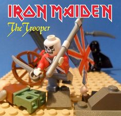 Heavy Metal done in Legos! Check out Dimebag, Metallica, Motorhead, Napalm Death & more