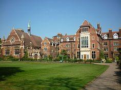 Homerton College, Cambridge, England, UK