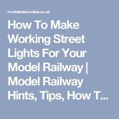 Model Train Circuits - Electronics Tutorial and Schematics ...