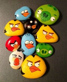 [Art for kids] cute and creative rock painting ideas for kids tag: rock painting ideas awesome fun, stone art, rock painting ideas animals, rock painting Pebble Painting, Pebble Art, Stone Painting, Diy Painting, Painting Flowers, Painting Stencils, Rock Painting Patterns, Rock Painting Ideas Easy, Rock Painting Designs