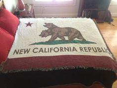 New California Republic Flag #Fallout via Reddit user slendermetembers