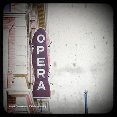 Tickets to the Opera 10x10 ttv photograph by birdseyephotography, $18.95