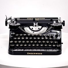 There's just something about a classic typewriter...
