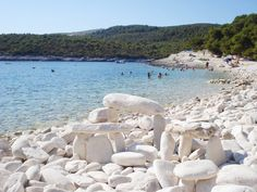 Silver (Srebrna) Beach on the island of Vis is one of the most beautiful beaches on the Adriatic - I AGREE!!! - #This is The Good Life - All about Luxury Travel