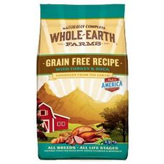 Whole Earth Farms Grain Free Turkey and Duck Recipe Dry Dog Food 25lb *** Be sure to check out this awesome product.