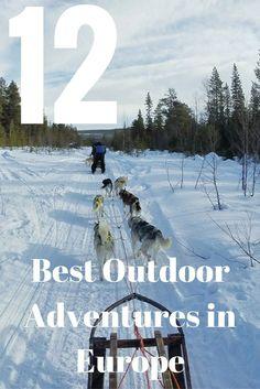 12 Best Outdoor Adventures in Europe