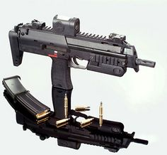 Image detail for -Heckler and Koch MP7: the Replacement for HK MP5 | Famous Guns