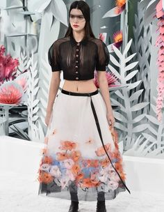 Kendal Jenner Paris Fashion Week - Chanel