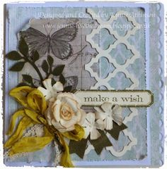 Country View Crafts' Projects: Butterflies, Banners and Blossoms - Jennie