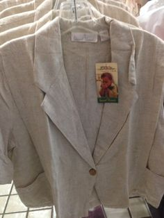 Linen Look Spring Jacket on sale at 50% OFF at OFF Fourth Outlet Store, 329 E 6th St.  Tucson, Az  620 1311
