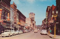 Downtown Dubuque IA  Zuckies, more gorgeous then, then now. Wish I could have seen it.
