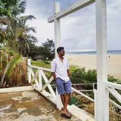 Colva beach side styles #goa #beach #chilling