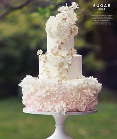 Whimsical #wedding #cakes inspired by nature in our latest #bridal feature | Washingtonian Bride & Groom