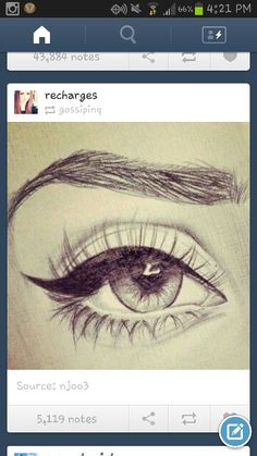 Off tumblr draw eye