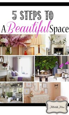 TIDBITS & TWINE: 5 Steps to a Beautiful Space