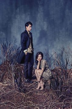 Kim Yoo Jung & Son Ho Jun Are Sprouting Glamour In Their Gloomy Secret Garden | Couch Kimchi