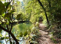 Boucle de randonnée de la Vallée du Cusancin près de Baume-les-Dames, Doubs