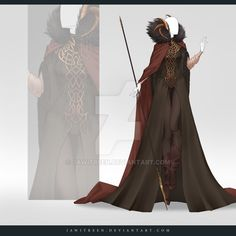 (OPEN) Adoptable Outfit Auction 269 by JawitReen.deviantart.com on @DeviantArt