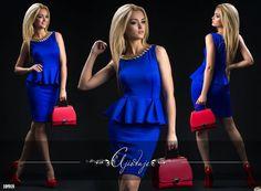 Платье с баской с широкой цепочкой, купить по лучшей розничной цене в наличии…
