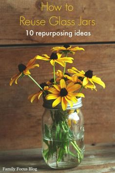 While recycling them is great, learning how to reuse glass jars will reduce your carbon footprint even more. Reusing glass jars is also a great way to save money and keep yourself organized. 10 ways to reuse glass jars.