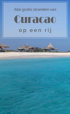 Alle gratis stranden van Curacao op een rij. Duidelijk en uitgebreid overzicht. #Curacao #beach #stranden #tips