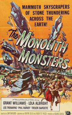The Monolith Monsters (1957) Original One-Sheet Movie Poster