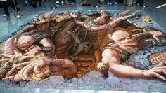 QPXY0 The Incredible World Of 3D Street Art