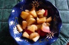 Recette - Salade de fruits aux épices qui fait faire hummmm& - Notée 4.6/5 par les internautes