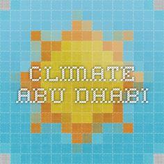 climate Abu Dhabi