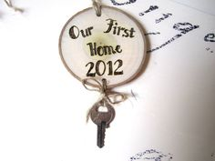 Personalized Ornament  Rustic Christmas Ornament by ImaginarySigns, $10.00