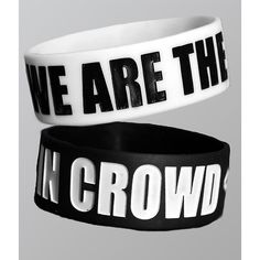 Rubber Bracelets For Mens : We Are The In Crowd: WATIC LOGO