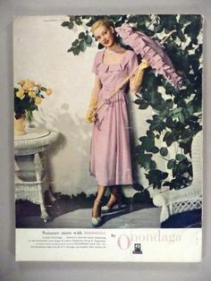 Vogue Pattern Book Jun Jul 1948 featuring Vogue 6429