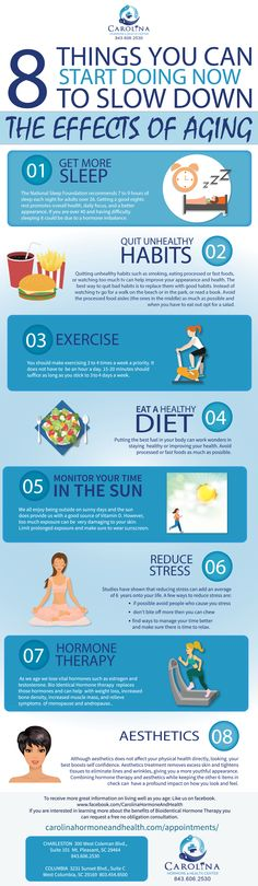8 Things you can start doing now to combat the effects of aging