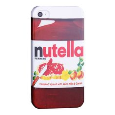 iPhone 4/4S Nutella hard case telefoonhoesje