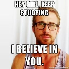 Study motivation for exam time.