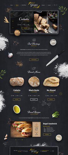 吉奥吉奥的面包店网站设计吉奥吉奥的面包店网站设计