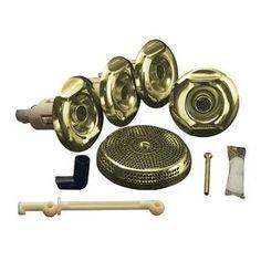 Kohler Flexjet Whirlpool Trim Kit, Vibrant French Gold 9694-Af